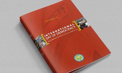 International day of democracy brochure