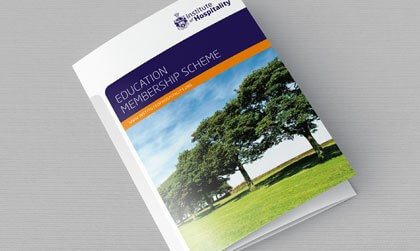 IOH education membership scheme leaflet