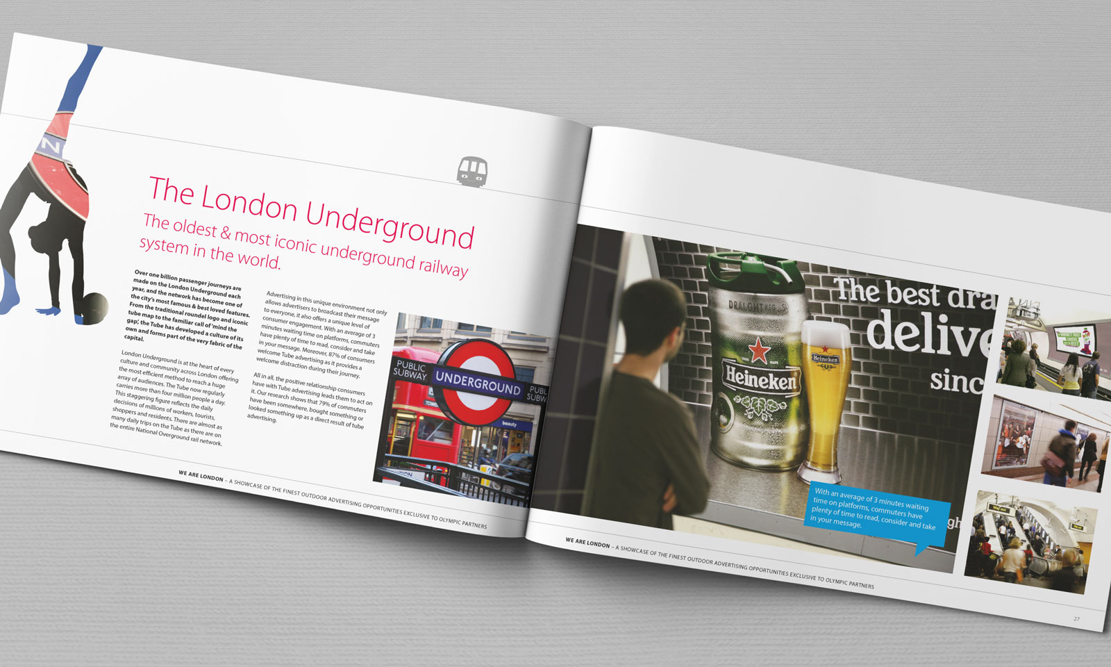 CBS Outdoor - London Underground spread