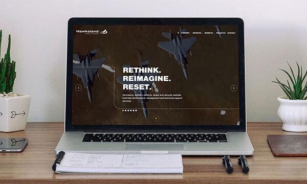 Hawksland website