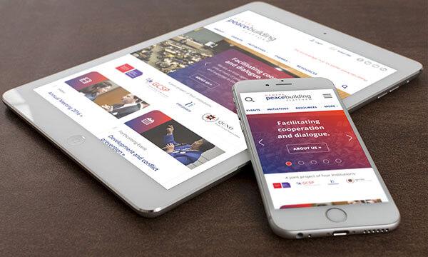 GPP website on mobile