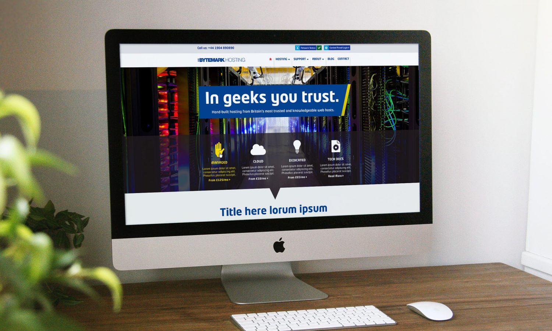 Bytemark website