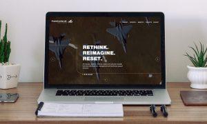 Hawksland website homepage