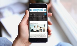 Pathway website on mobile