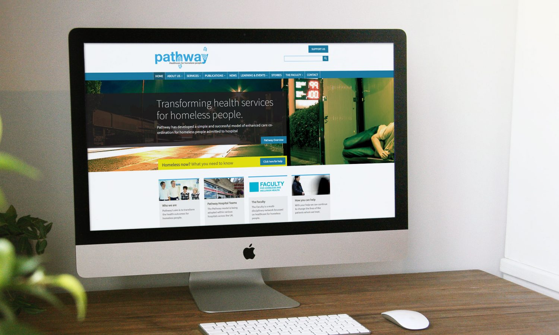 Pathway website homepage