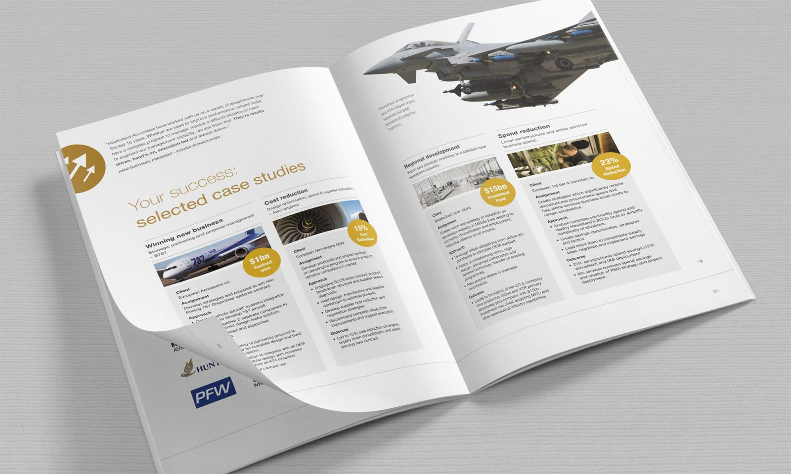 Hawksland Brochure - case studies