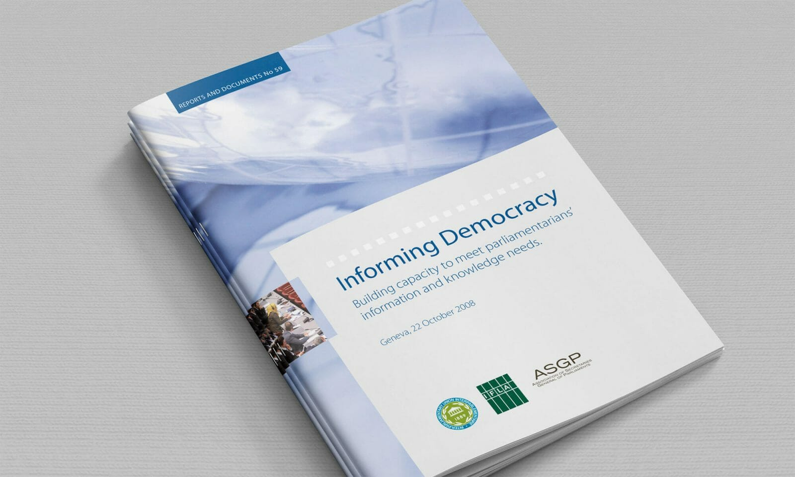 IPU Informing democracy cover