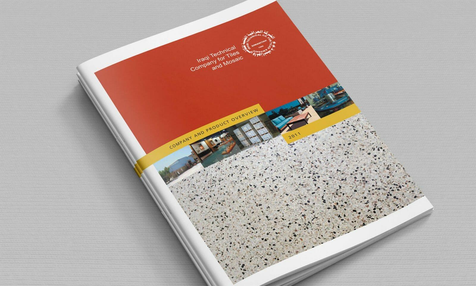 Iraqi Tiles company brochure