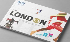 CBS Outdoor Olympic advertising opportunities cover gold