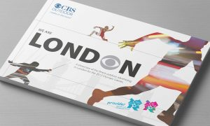 CBS Outdoor Olympic advertising opportunities cover silver