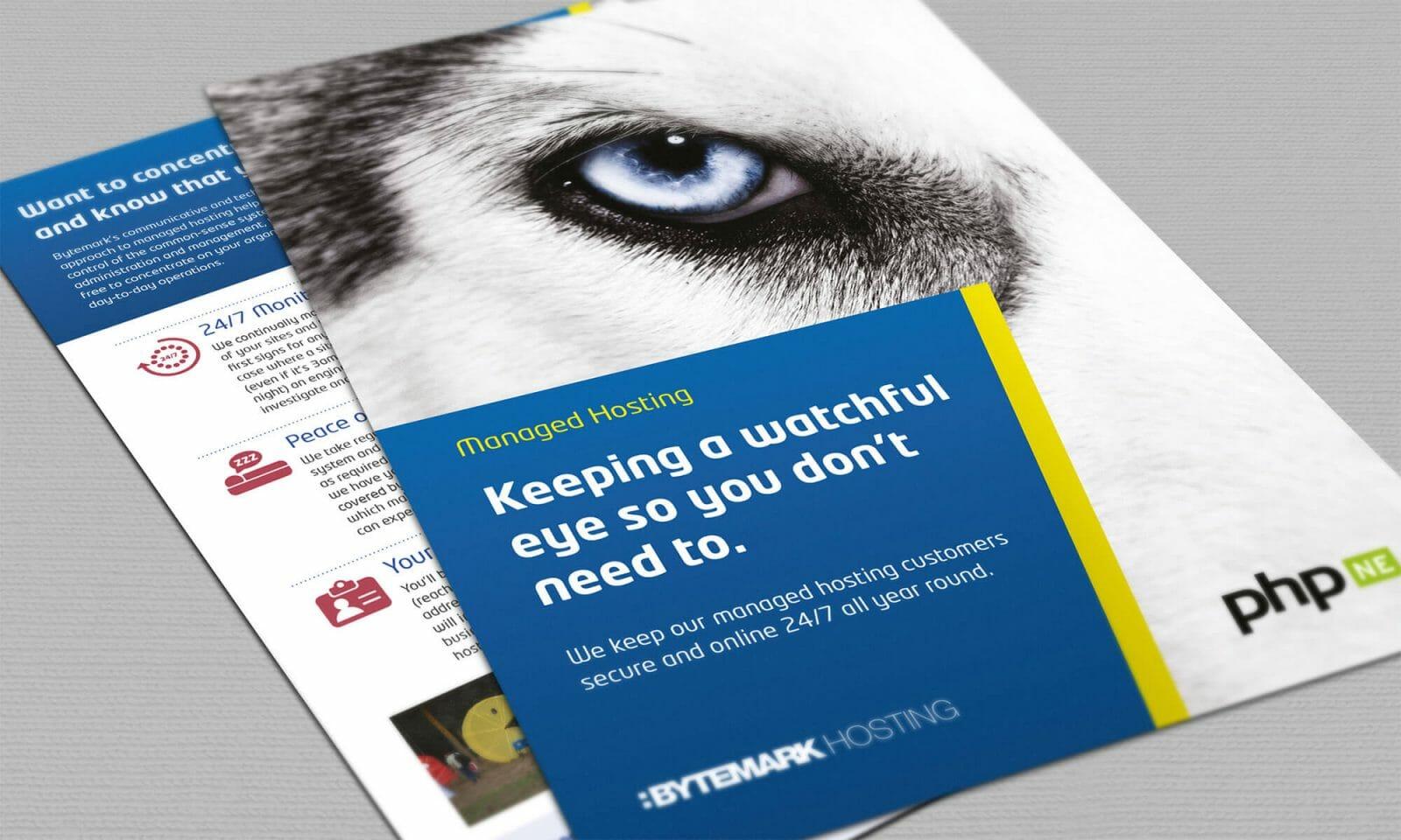 Bytemark leaflet cover