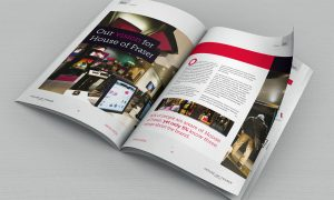 Arena media pitch to House of Fraser