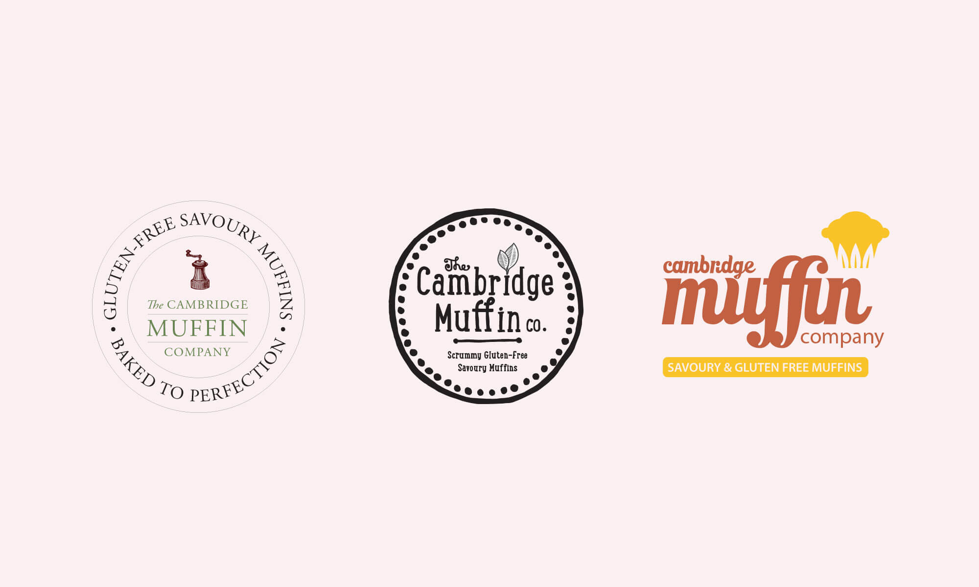Cambridge Muffin company logo alternatives