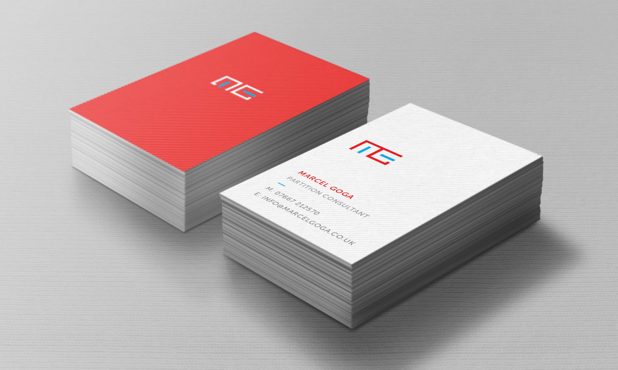 MG business cards