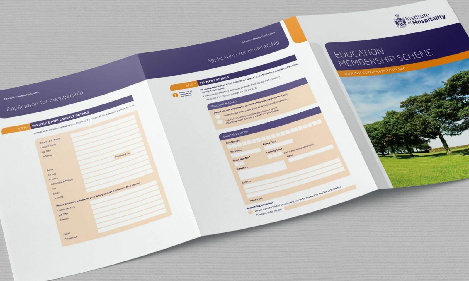 IOH education membership scheme form