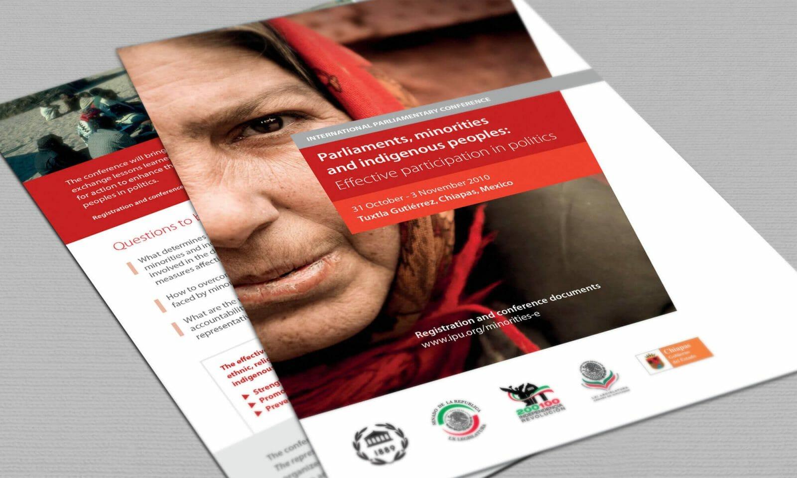 IPU indigenous leaflet cover