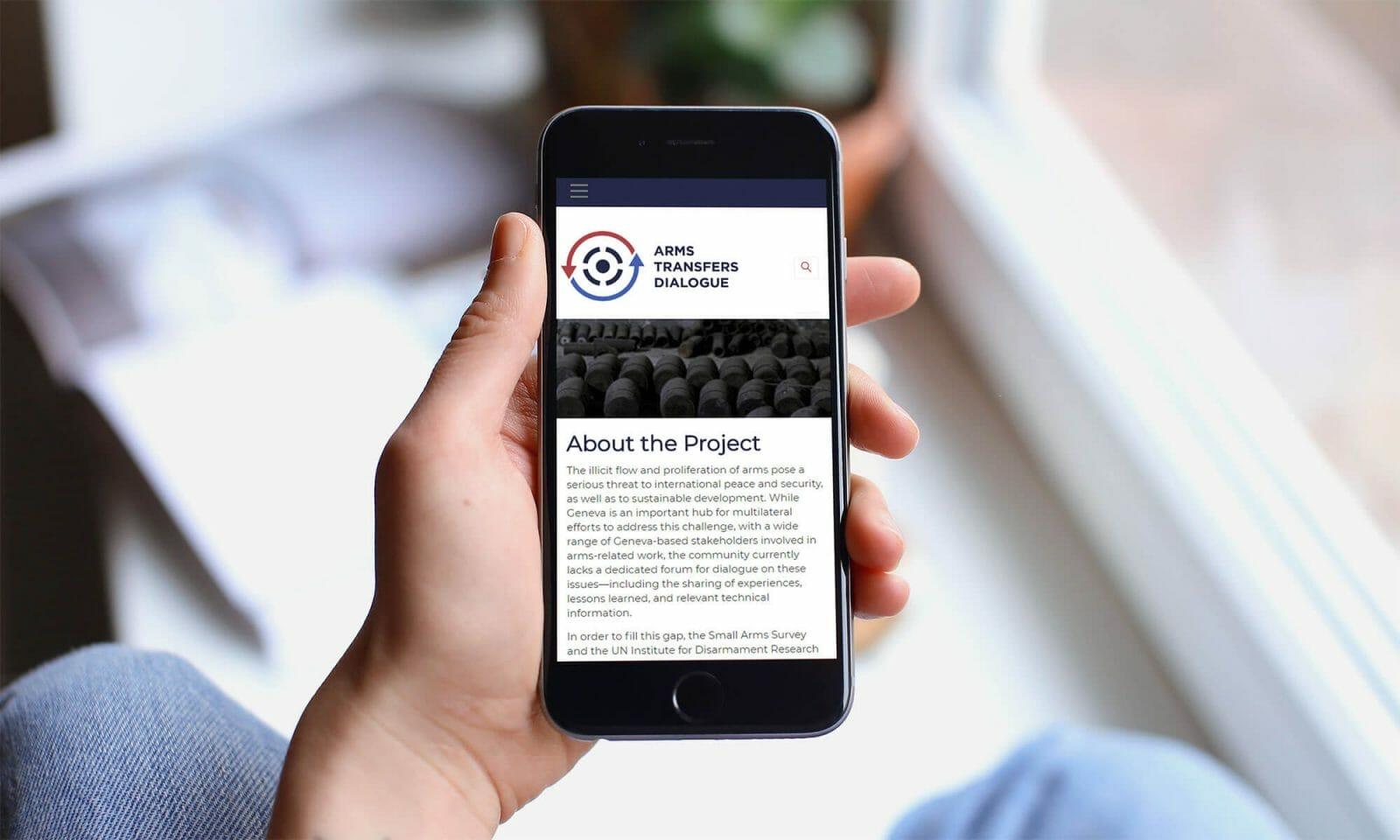 ATD website on mobile