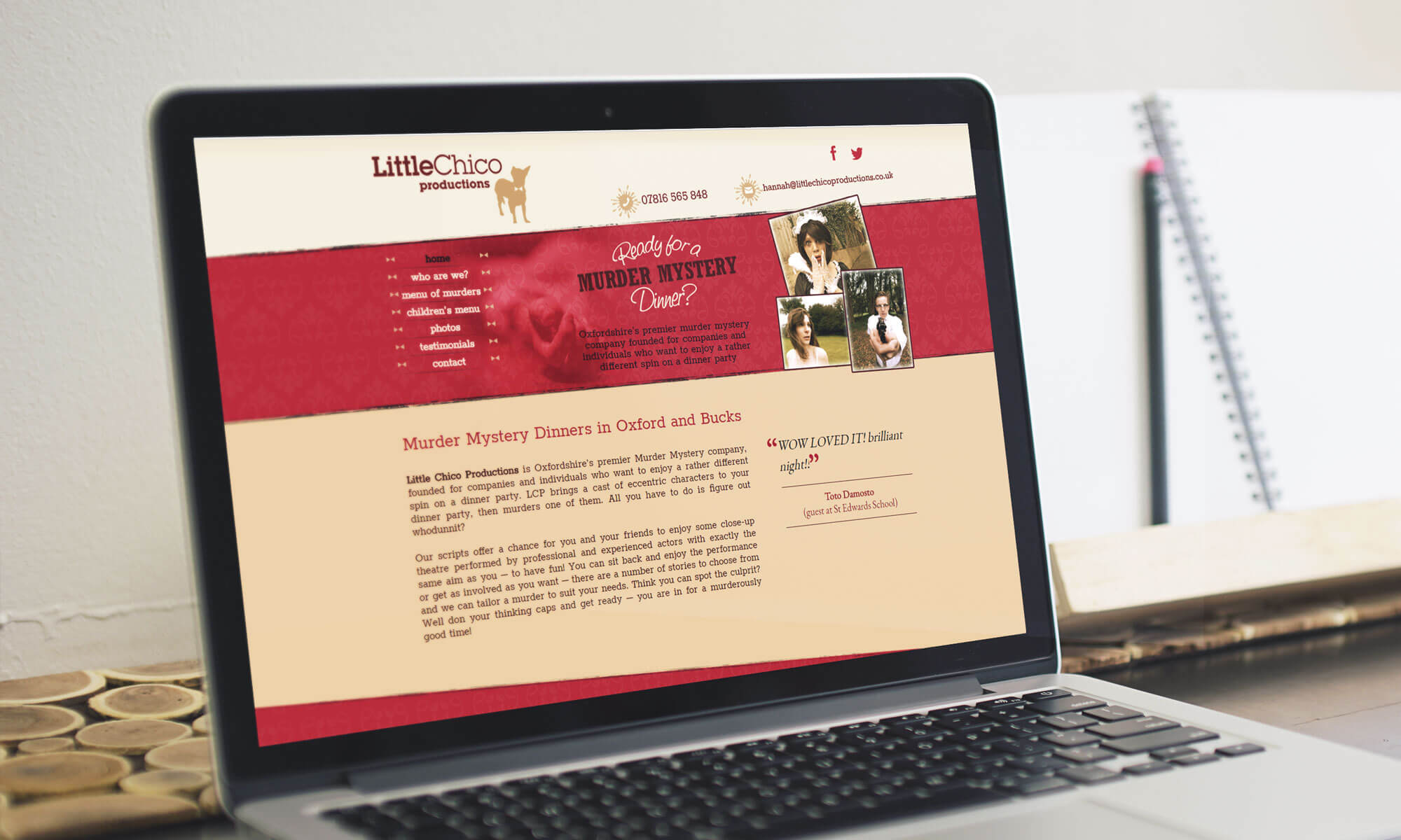 Little Chico website