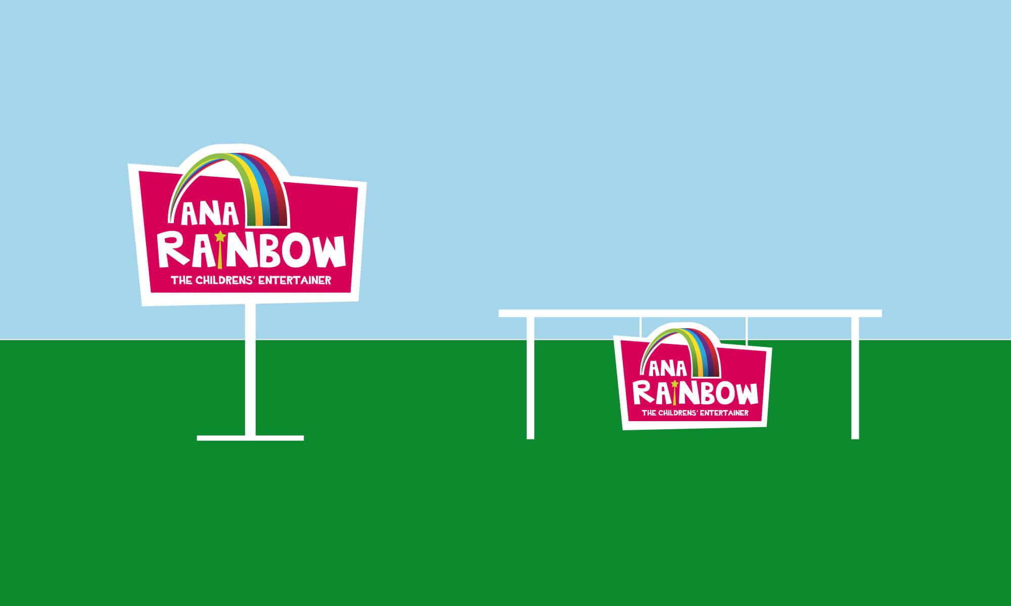 Ana Rainbow logo