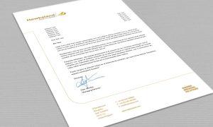 Hawksland letterhead