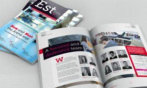 Est. magazine style proposal