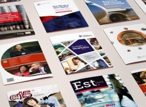 Various brochures