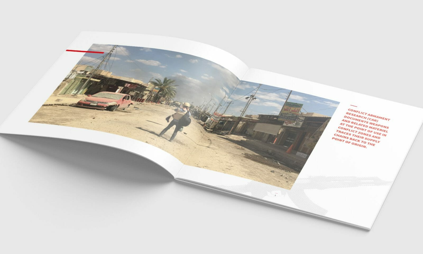 Conflict Armament Research brochure