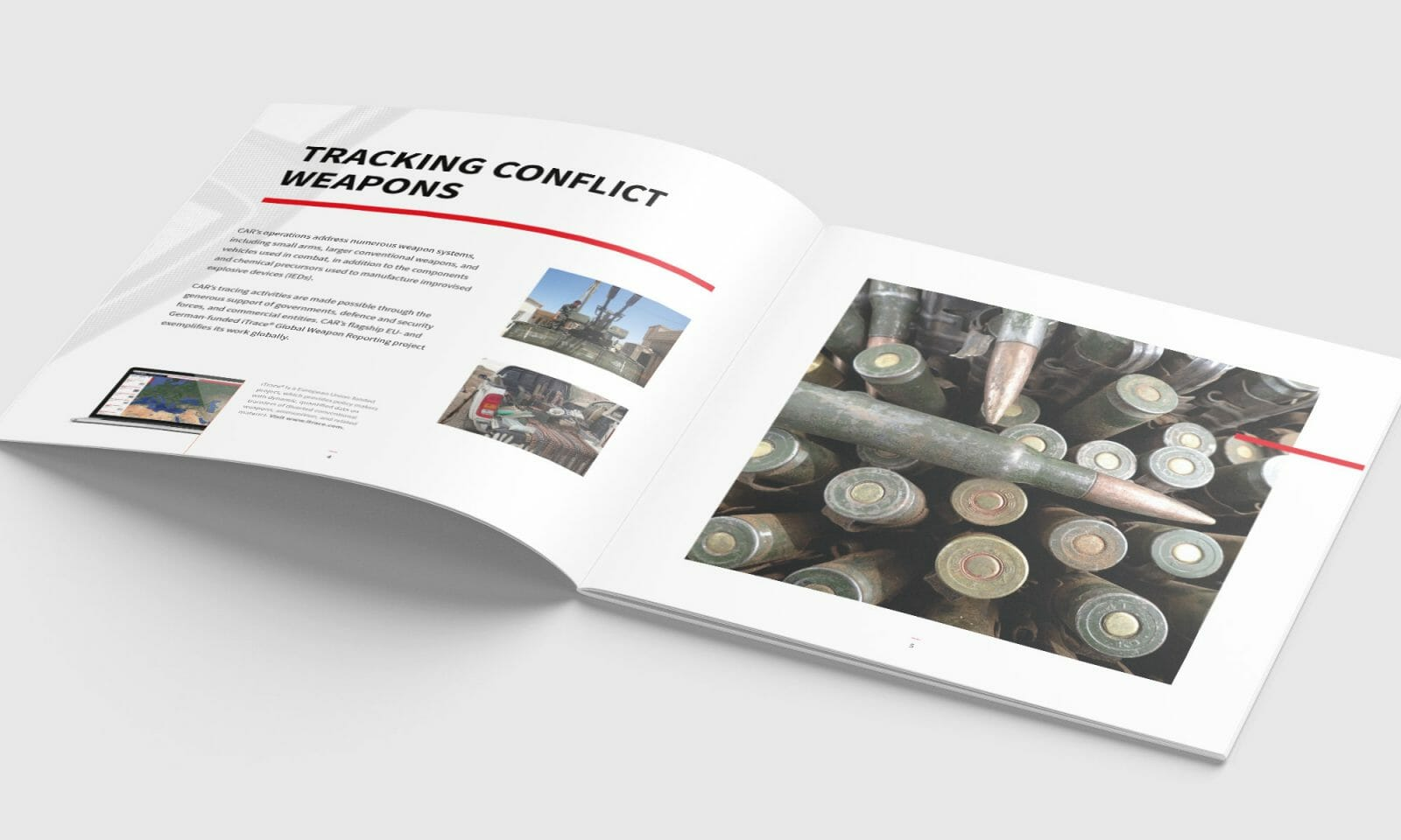 Conflict Armament Research brochure