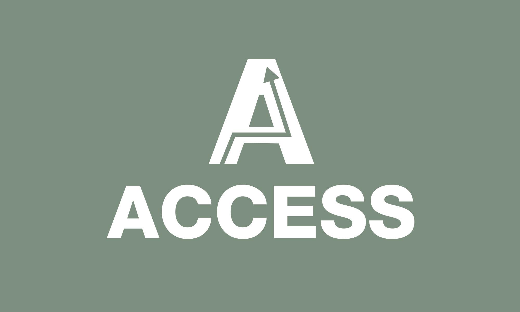 Access logo reverse