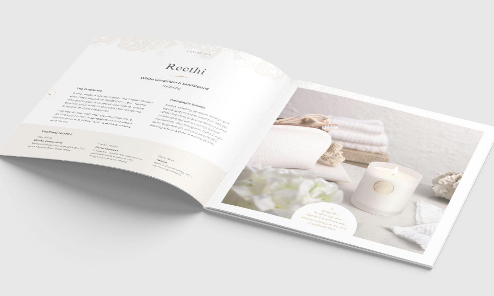 Ardere brochure spread