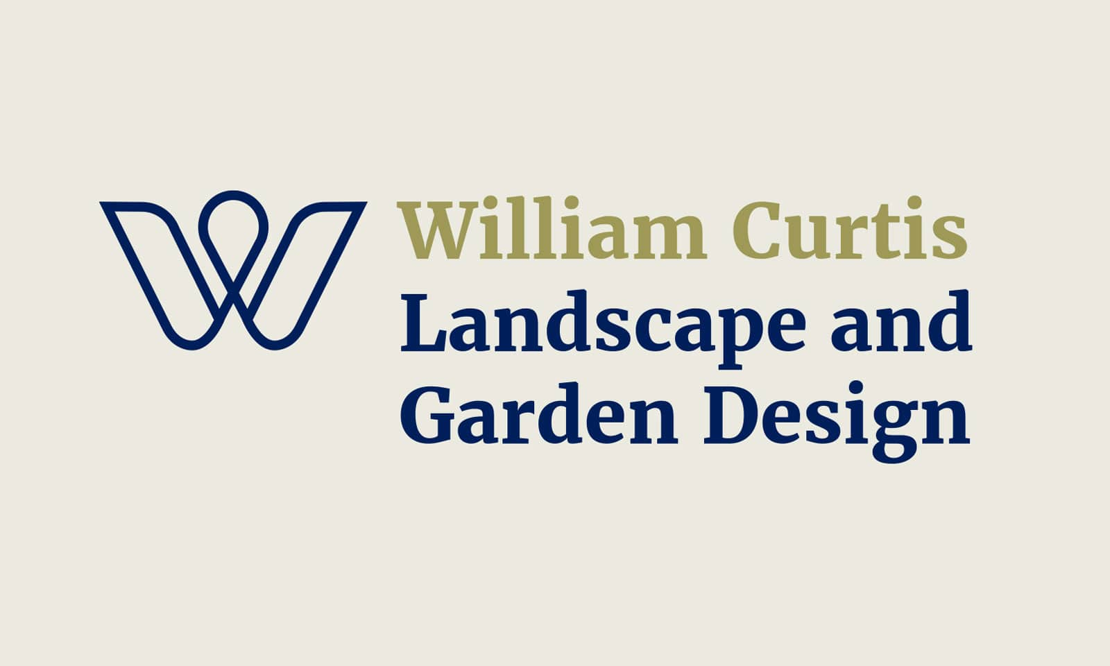 William Curtis - Logo landscape solid