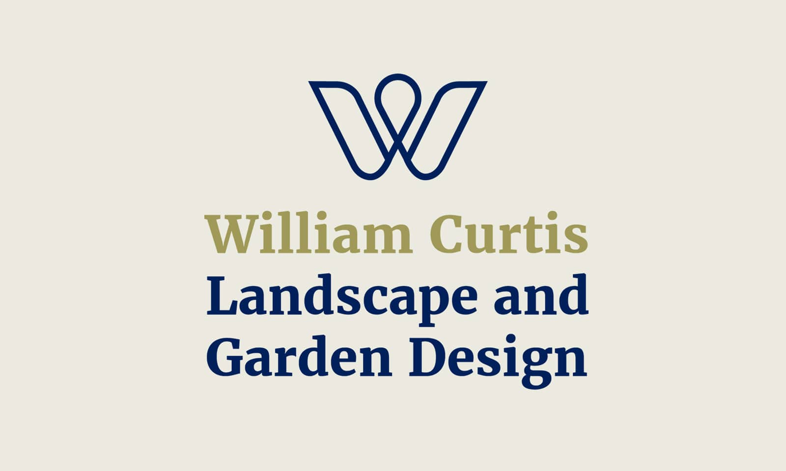 William Curtis - Logo portrait solid