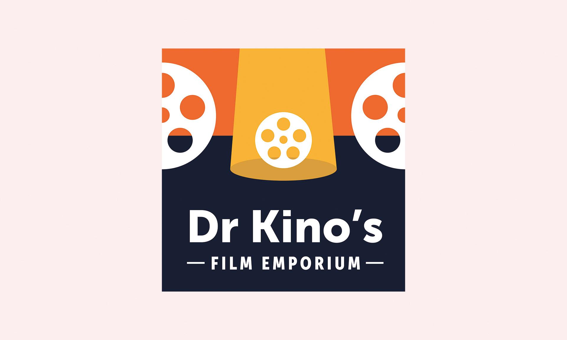 Dr Kino's Film Emporium logo