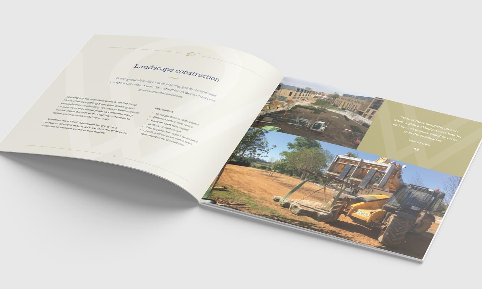 William Curtis Brochure Landscape Design