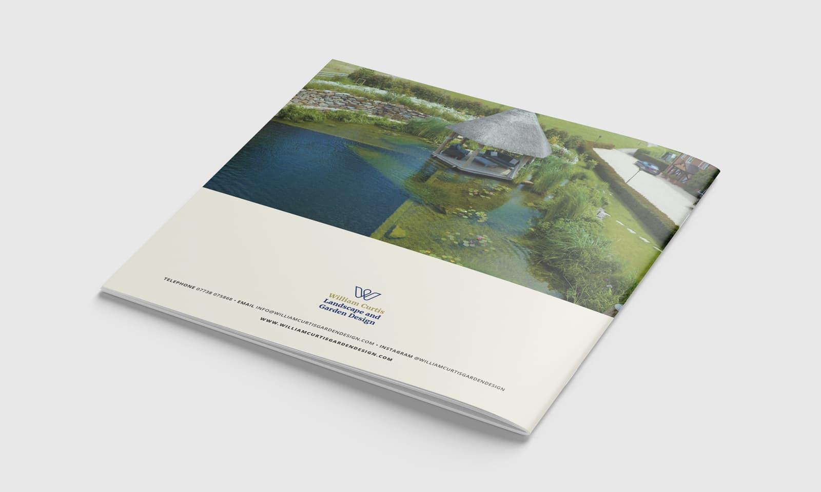 William Curtis brochure rear